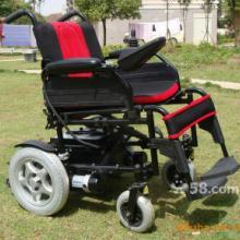 供应台湾电机高强度铝合金车架电动轮椅图片