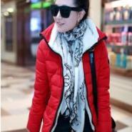 韩版羽绒棉服图片