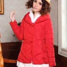 2013冬装新款韩版女装毛领修身短款棉衣批发便宜女装批发