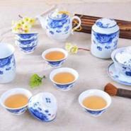 青花茶具郑州商务礼品12头茶具图片