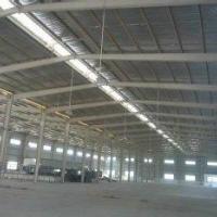 东莞长安安乐专业搭建钢构铁皮房 环保空调负压风机 皮房应