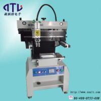 供应smt印刷机,半自动丝印机,半自动锡膏印刷机厂家