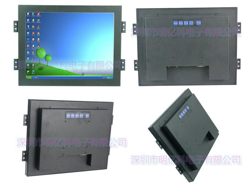 供应MEKT15寸电容触摸屏10点触控工业显示器