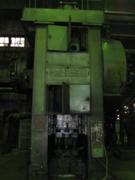 供应俄罗斯2500吨热模锻压力机