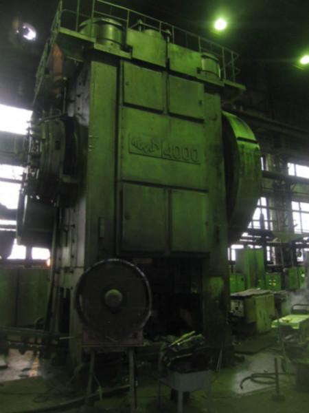 供应俄罗斯4000吨热模锻压力机