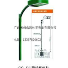 供应河池金城江宜州天峨篮球场灯光照明多少钱  篮球场灯杆