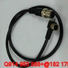 供应M12双头预制接插件4针4孔、5针5孔、6针6孔、7针7孔、8针图片