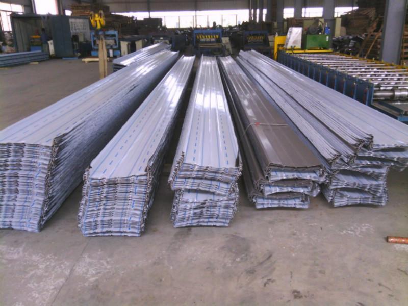 供应铝镁锰直立锁边屋面板400型430型,长沙铝镁锰金属屋面板430型400型