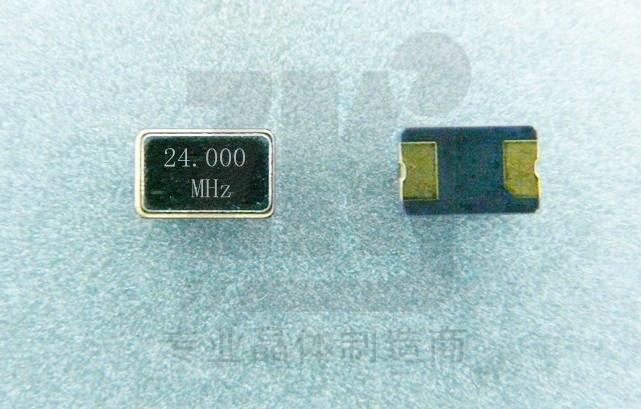 售封装503224.00MHz石英贴片晶振压电晶体谐振器