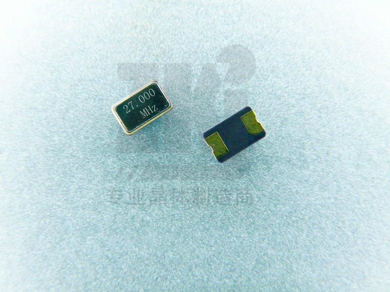 封装5032贴片晶振27.00MHz压电晶体频率元件出售