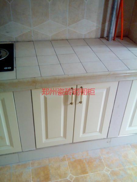 供应田园风格的地板砖橱柜