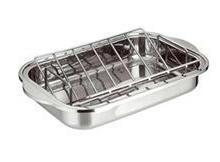供应不锈钢烧烤盘/火鸡盘/方盘/ZD-SKP03