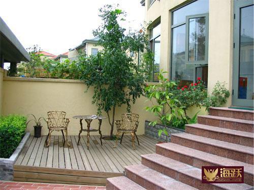 别墅庭院_别墅庭院木屋设计_别墅的庭院设计