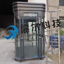 供应武汉钢结构岗亭低价定做不锈钢岗亭武汉停车场收费岗亭厂家