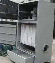 供应小型手动抽屉式吸尘机 工业单机除尘器 工业小型袋式集尘器图片