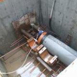 供应迁安非开挖施工大口径岩石顶管非开挖工程,专业人工顶管过路工程