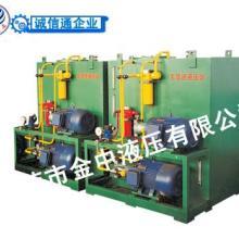 压铸机液压系统定做,小型液压系统设计,金中液压泵站加工