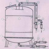 供应石英砂锰砂机械过滤器也称多介质过滤器,经济型、过滤效果好