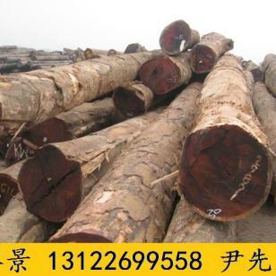 巴劳木原木加工厂图片