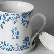 广州卡通陶瓷杯定做广州高白瓷陶图片