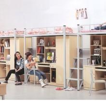 福建学生公寓 宿舍上下铺--晋江锦美家具