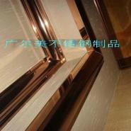 不锈钢电梯镜面门套图片