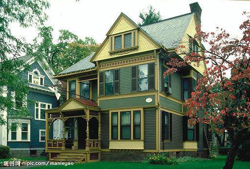 木屋别墅设计施工景区木屋木质别墅销售
