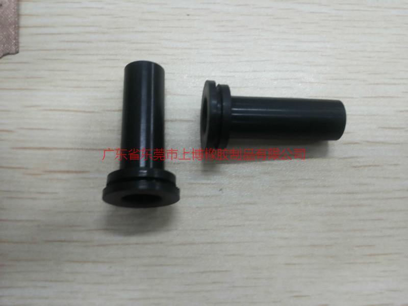 厂家供应橡胶护线套 硅胶护线圈 电源穿线套 可定制生产胶护线套