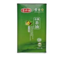 供应茶母山一级精品铁罐茶油1.8L