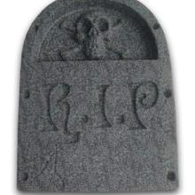 供应PVC墓碑吸塑PVC鬼节道具万圣节道具节日装饰用品吸塑批发