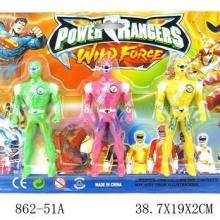库存玩具,儿童人偶塑料玩具百兽战队称斤批发批发