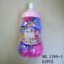 库存玩具,大奶瓶积木/婴幼儿教具称斤批发