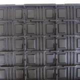 供应苏州昆山PVC吸塑托盘厂家直销,本色PS医疗机械托盘,PET黑色上下盖