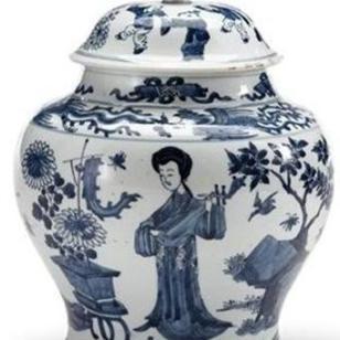 大明成化年制罐子图片