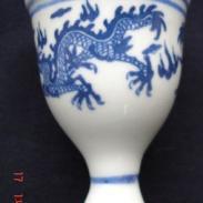 大清乾隆年制酒杯图片