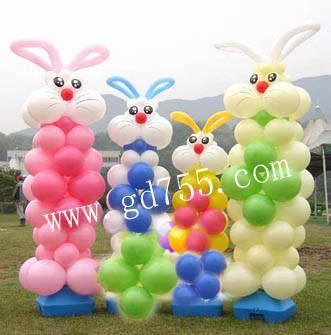 小兔子/气球装饰报价