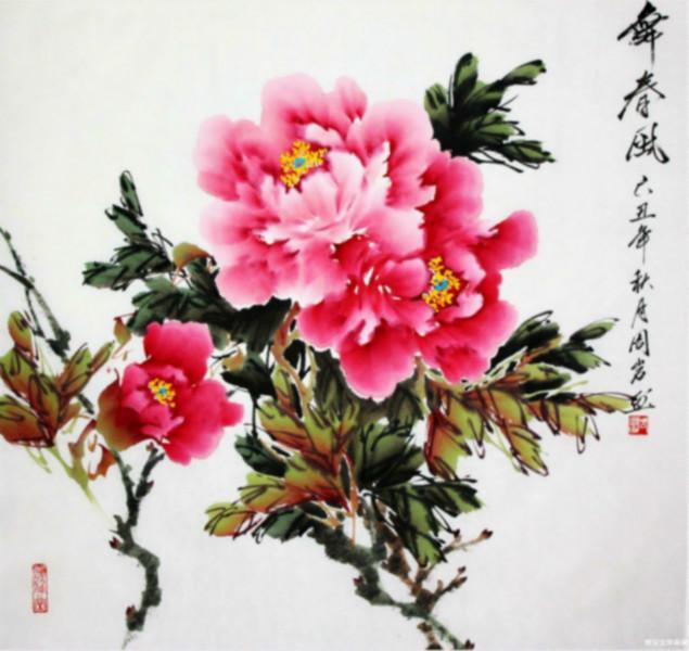 牡丹是国画花卉中经常描绘的题材,历代诗人画家有着无数赞美牡丹的图片