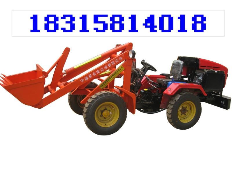 小四轮铲车拖拉机小铲车改装 小四轮铲车拖拉 高清图片