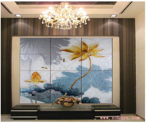 外墙瓷砖图片 外墙瓷砖样板图 外墙瓷砖印花机瓷砖壁画uv彩高清图片
