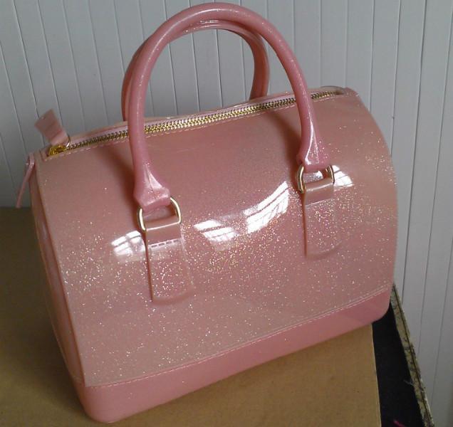 供应螺粉色带闪中号糖果包批发 螺粉色带闪中号糖果包价格