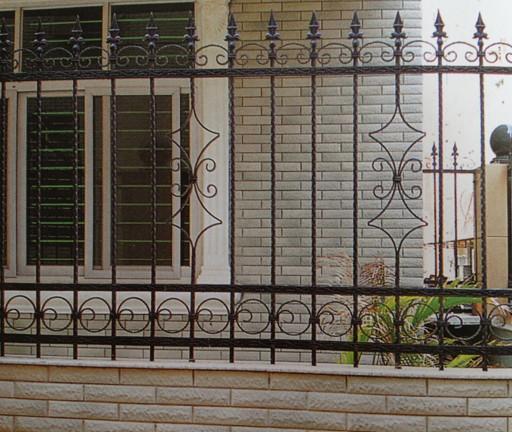 欧式铁艺围栏图片图片