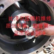 复盛螺杆压缩机维修电机维修图片