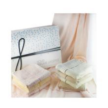 供应私享家水立方广告毛巾礼盒