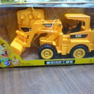 库存玩具外贸尾单拉线工程车低价处图片