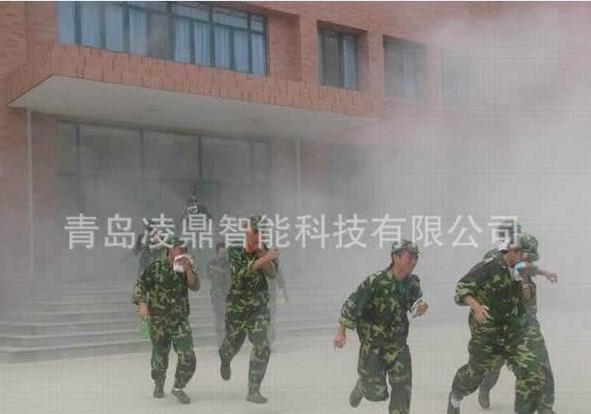 供应消防演练烟雾罐白色烟雾罐三分钟发烟罐凌鼎烟雾发生器厂家直销