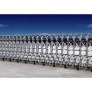 兰州城关区现货7米伸缩门,铝合金型材,高度1米7,兰州创金泽自动门