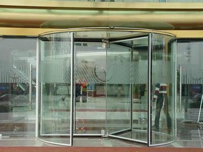 甘肃哪里有水晶旋转门,兰州创金泽自动门销售安装售后一条龙