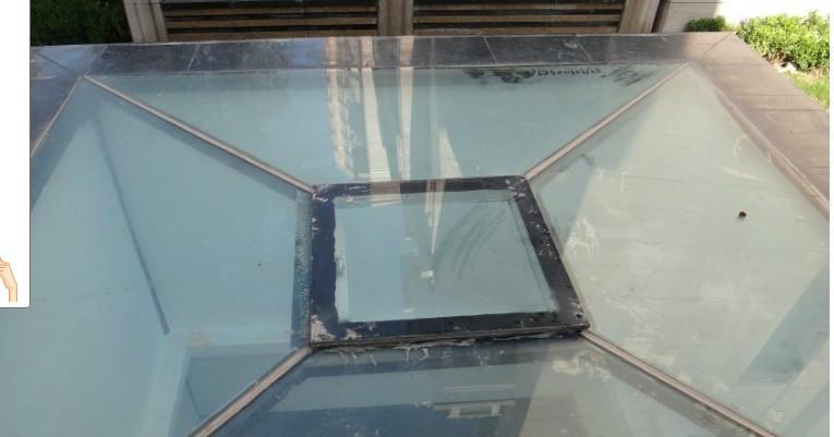 供应天水屋顶铝合金电动天窗图片