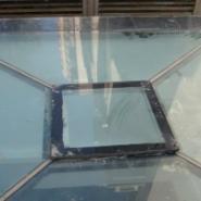 天水屋顶铝合金电动天窗图片