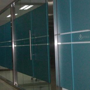 北京3M玻璃膜磨砂贴办公室磨砂膜图片